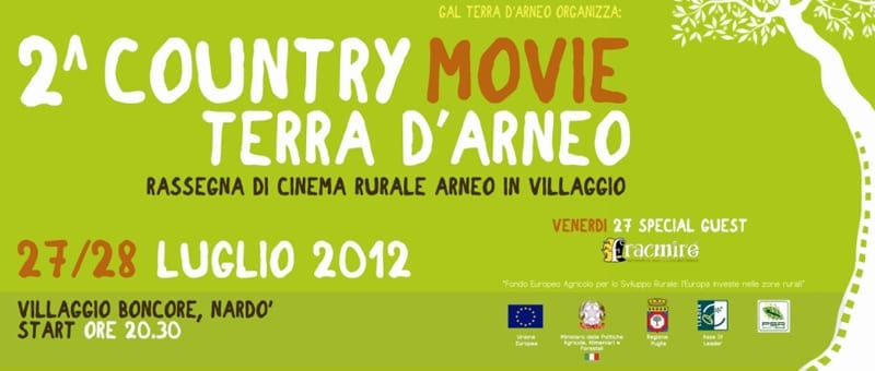 Ci siamo! È tutto pronto per la II^ del Country Movie Terra d'Arneo