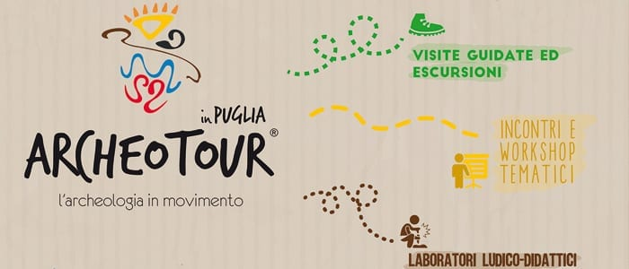 "Il GAL Terra d'Arneo partner di ""ARCHEOTOUR in Puglia, l'ecologia in movimento"""