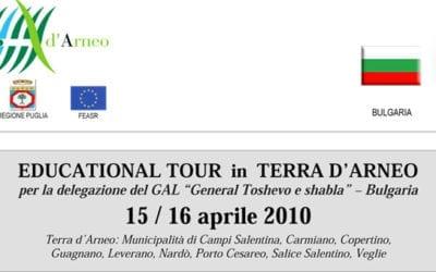 """La Delegazione del GAL """"General Toshevo e Shabla"""" (Bulgaria) in visita nella Terra d'Arneo"""