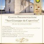 """In Terra d'Arneo, apre il Centro documentazione  """"San Giuseppe da Copertino"""""""