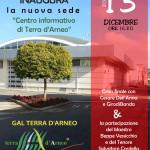 L'inaugurazione della nuova sede del GAL Terra d'Arneo in diretta streaming sul nostro canale YouTube