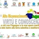 """1° alto riconoscimento """"Virtù e Conoscenza"""": un premio per le personalità del Mediterraneo"""