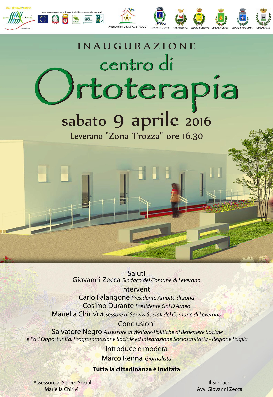 Apre a Leverano il Centro di Ortoterapia