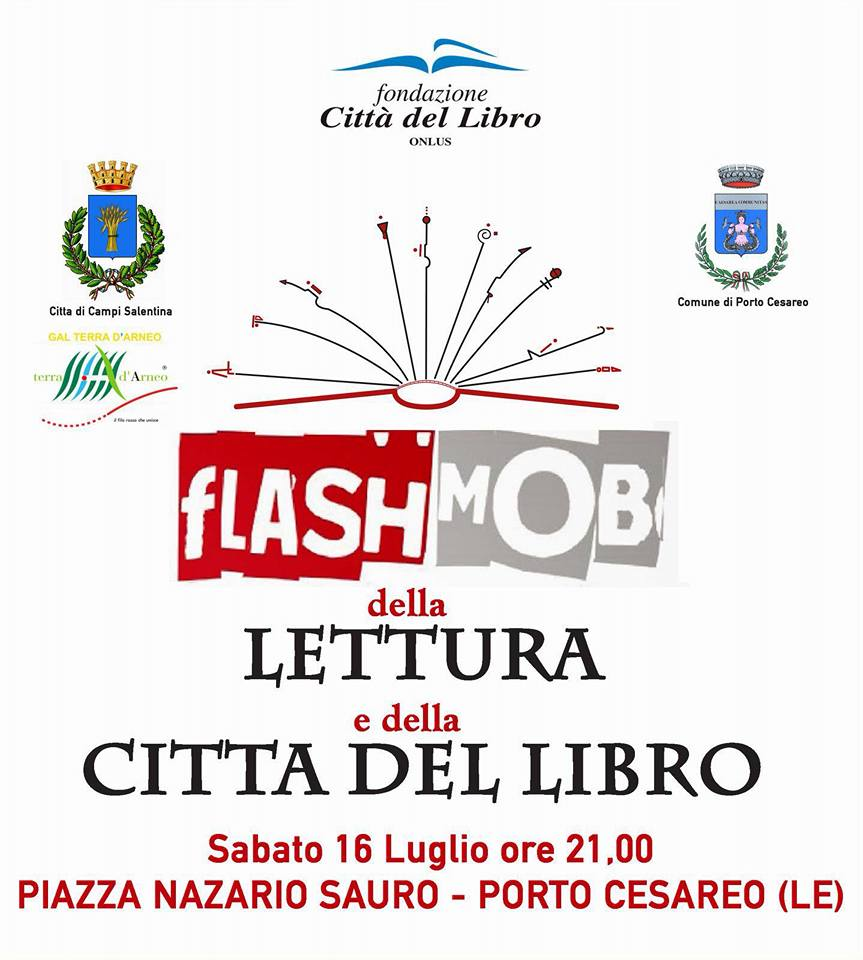 Un Flash Mob per la lettura