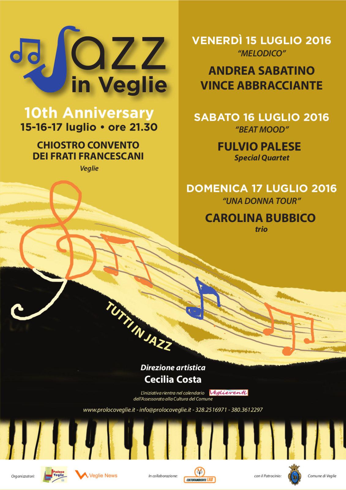 Al via l'edizione 2016 di Jazz in Veglie