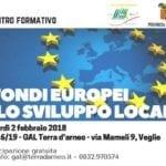 INCONTRO FORMATIVO: i fondi europei e lo sviluppo locale