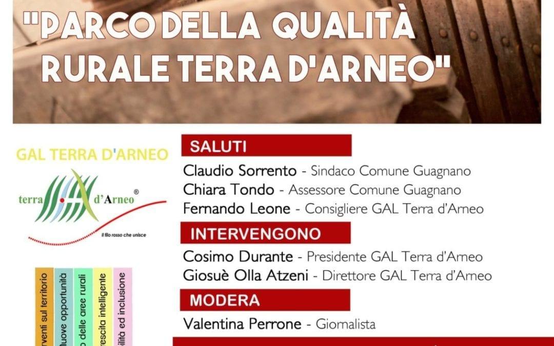 Si svolgerà a Guagnano il prossimo appuntamento dedicato alle attività  di animazione territoriale del GAL Terra d'Arneo