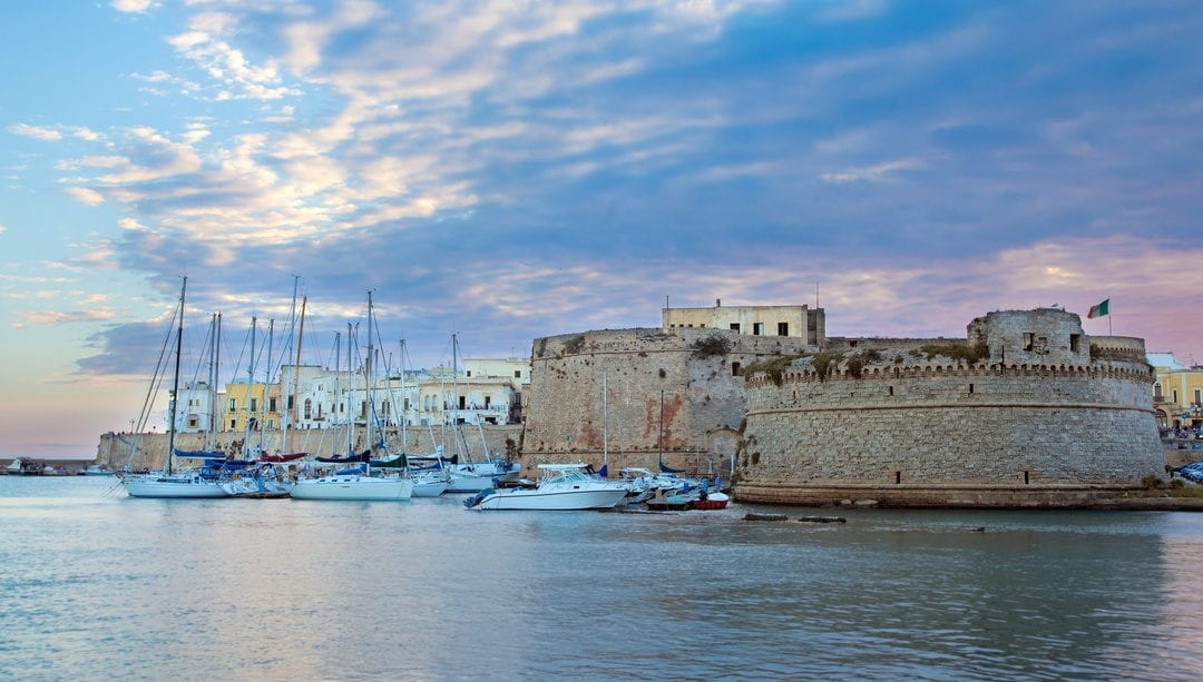 Gallipoli e la Terra d'Arneo nel circuito del turismo crocieristico di qualità