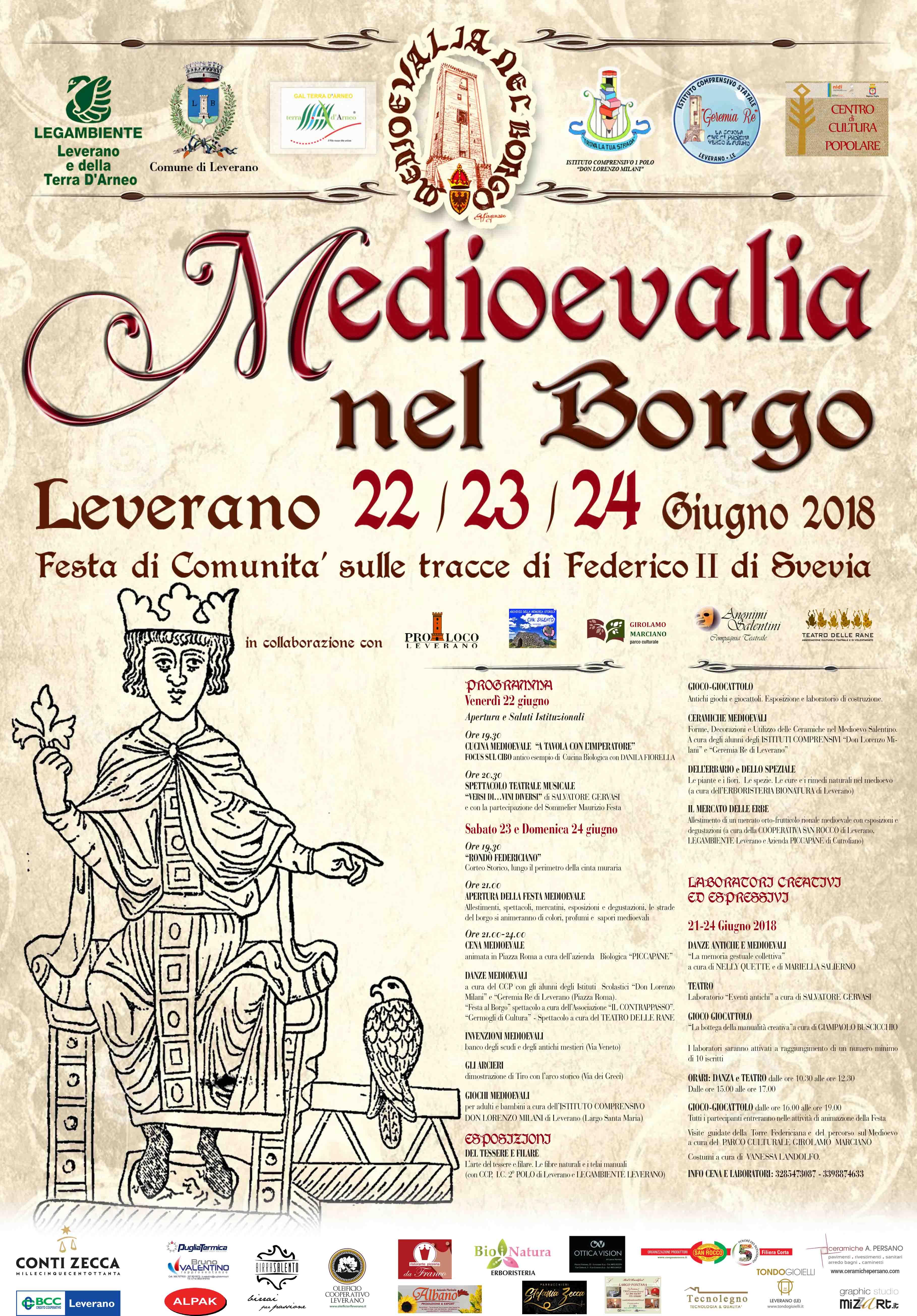 Medioevalia nel borgo: festa di comunità sulle tracce di Federico II di Svevia