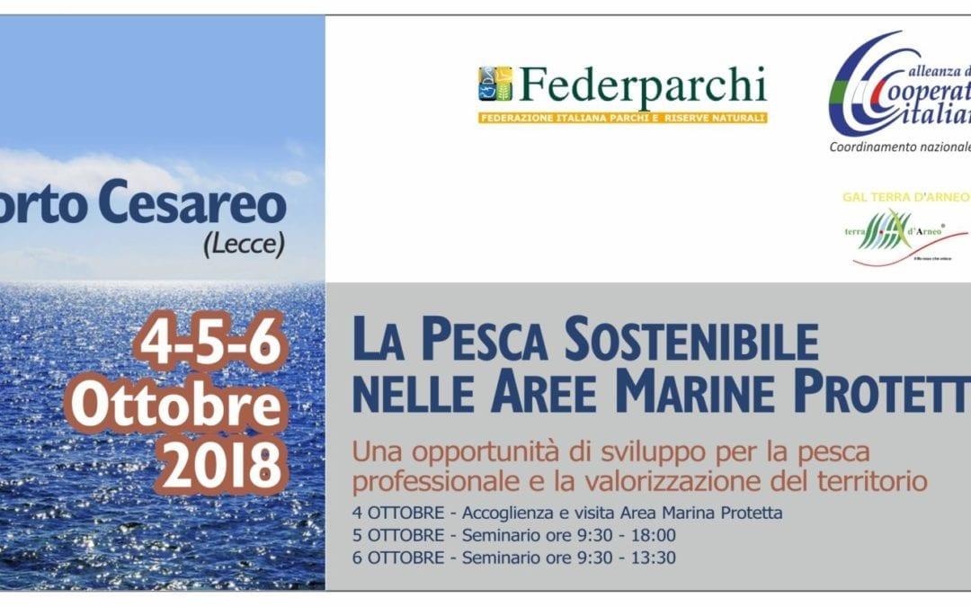 Pesca sostenibile nelle Aree Marine Protette  – Un seminario a Porto Cesareo i prossimi 5 e 6 ottobre
