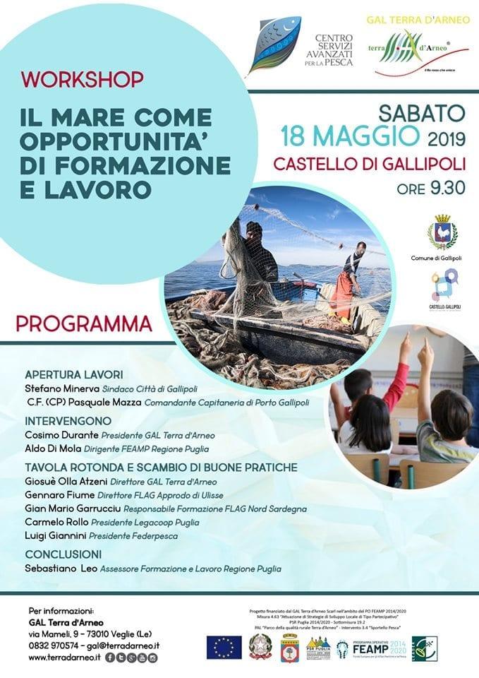 Il mare come opportunità di formazione e lavoro - Workshop