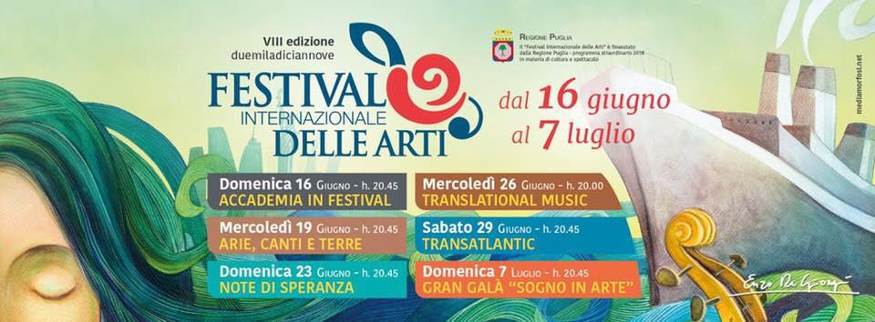 Festival Internazionale delle Arti 2019