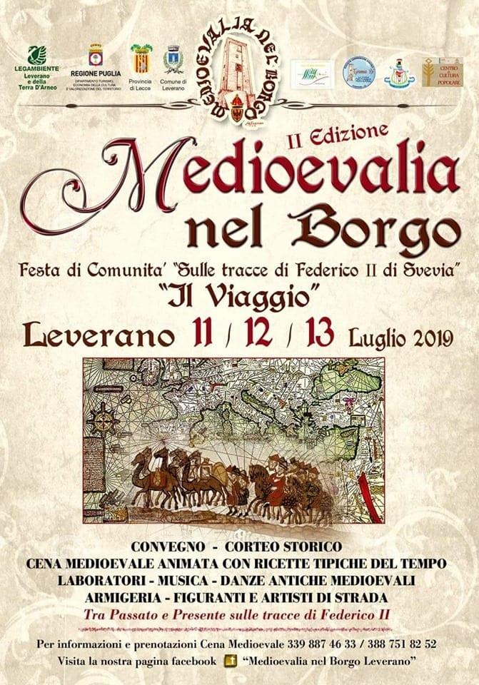 """MediOEvalia nel Borgo: sulle tracce di Federico II di Svevia  - """"IL VIAGGIO"""""""
