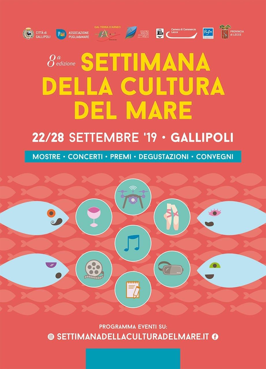 Settimana della Cultura del Mare - Ottava edizione,  22/28 settembre 2019