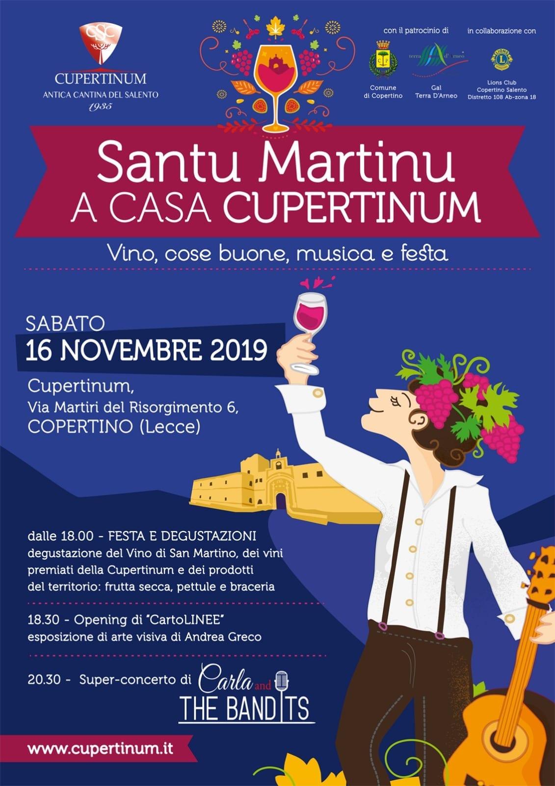 Santu Martinu a casa Cupertinum